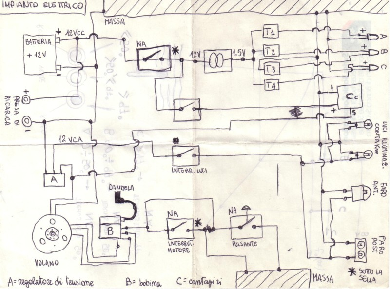 Schema Elettrico Zip Piaggio : Pin schemi elettrici vari on pinterest